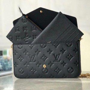 LV 3 IN 1 SET SLING  BAG BLACK